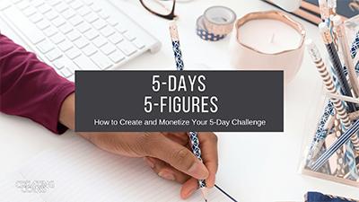 5 days 5 figures image