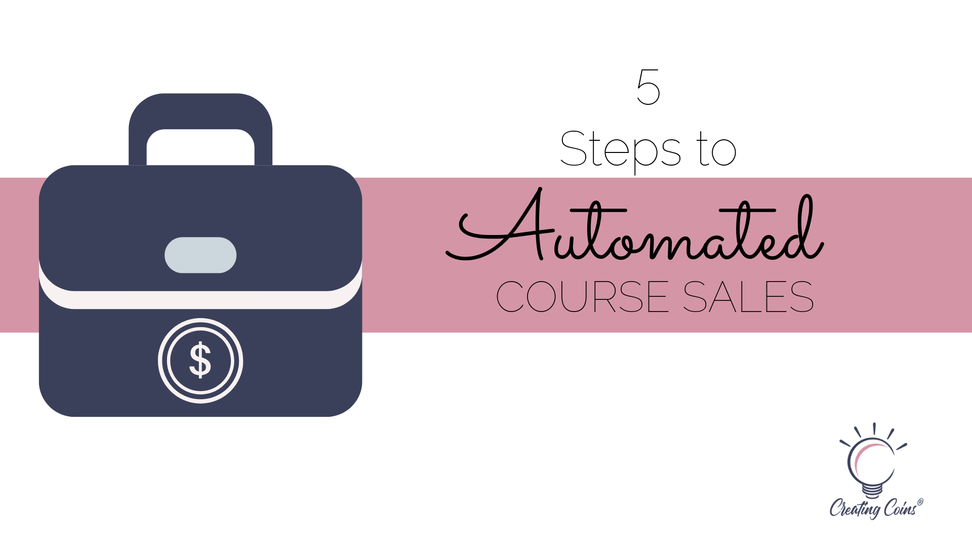 5 steps to automated course sales